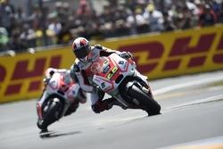 Yonny Hernandez y Danilo Petrucci, Pramac Racing Ducatis