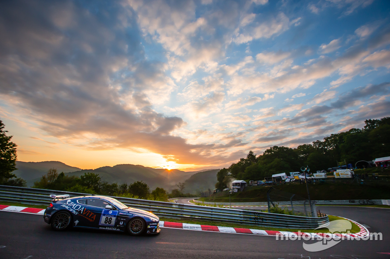 #88 Stadavita Racing Team Aston Martin Vantage V8 GT4: Scott Preacher, Robert Thomсин