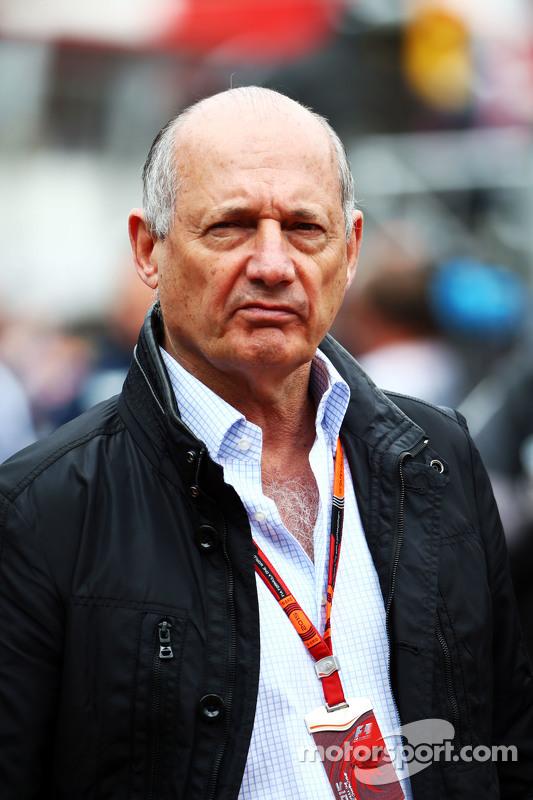 Ron Dennis, diretor executivo da McLaren