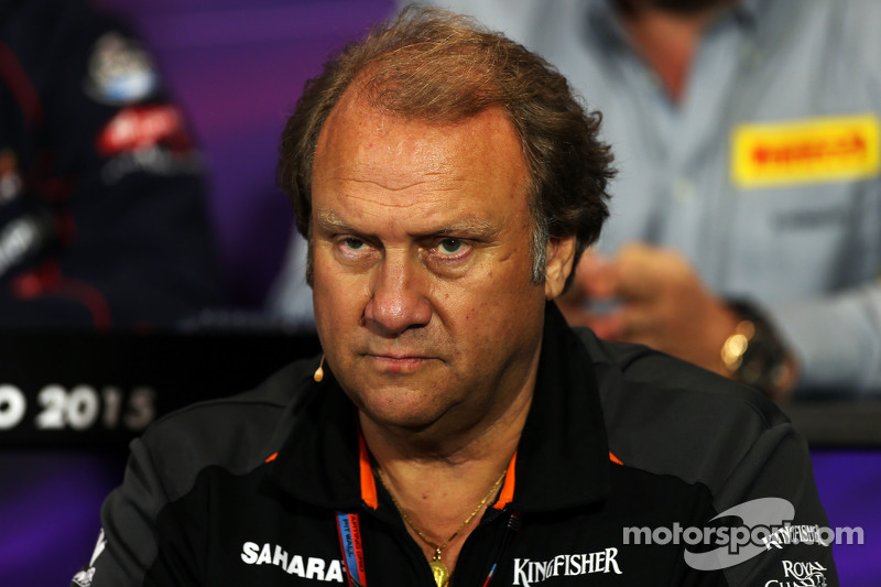 Robert Fernley, Sahara Force India F1 Team Deputy Team Principal di FIA Press Conference