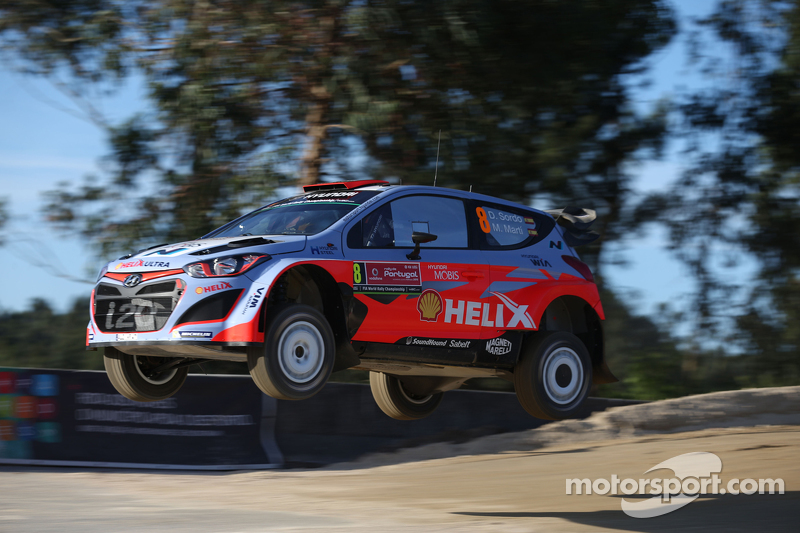 Daniel Sordo dan Marc Marti, Hyundai I20 WRC Hyundai Motorsport