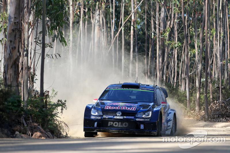 Andreas Mikkelsen und Ola Floene, Volkswagen Polo R WRC Volkswagen Motorsport 2