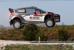 Роберт Кубица и Мацек Щепаняк, Ford Fiesta WRC