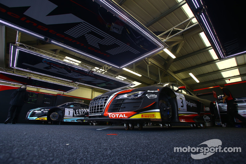 #3 Belgian Audi Sport Team WRT, Audi R8 LMS ultra: Stéphane Richelmi, Stéphane Ortelli, Frank Stippler
