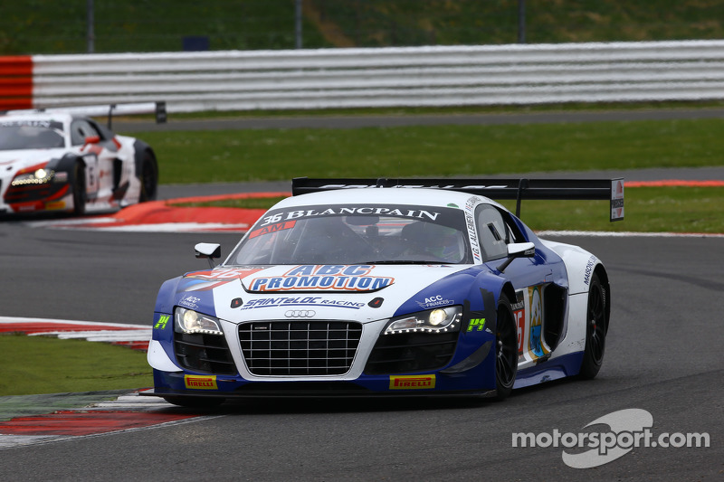 #36 Sainteloc Racing, Audi R8 LMS Ultra: Gilles Lallemant, Jean-Paul Buffin, Georges Cabanne