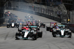 Largada Lewis Hamilton, Mercedes AMG F1 Team