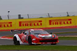#10 Akka ASP, Ferrari 458 Italia: Ludovic Badey, Maurice Ricci