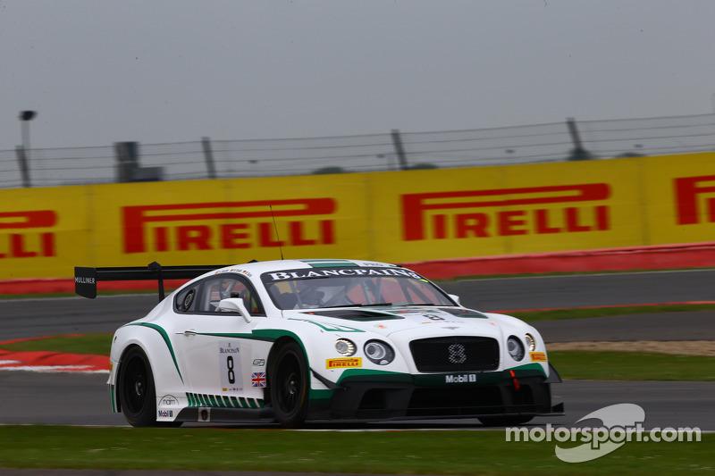 #8 Bentley Team M-Sport, Bentley Continental GT3: Maximilian Buhk, Andy Soucek, Maxime Soulet