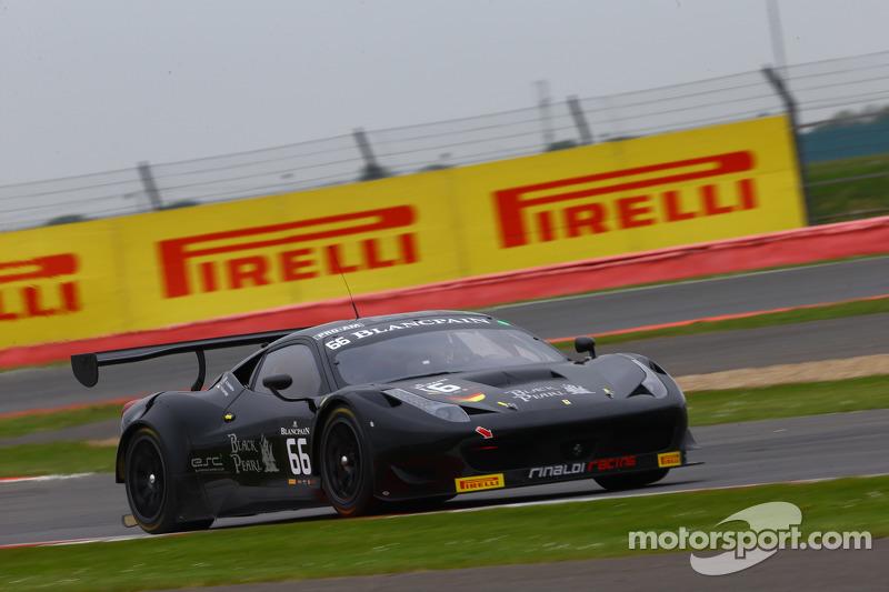 #66 Black Pearl Racing by Rinaldi Racing Ferrari 458 Italia: Стів Перроу, П'єр Каффер