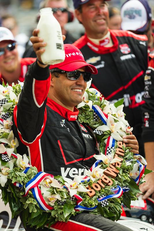 Juara balapan Juan Pablo Montoya, Team Penske Chevrolet