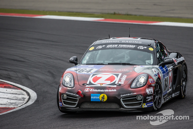 #164 Mathol Racing, Porsche Cayman: Claudis Karch, Ivan Jacoma