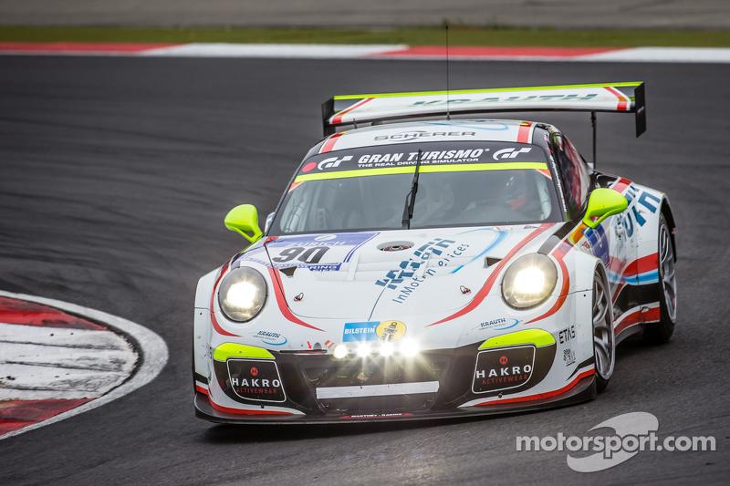 #90 Team Manthey Porsche 911 GT3 Cup MR: Steve Smith, Nils Reimer, Reinhold Renger, Harald Proczyk