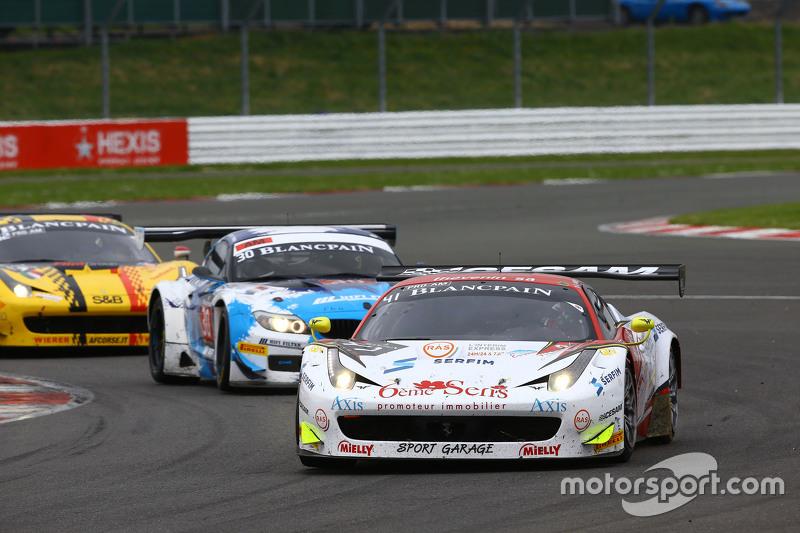 #41 Sport Garage, Ferrari 458 Italia: Enzo Guibbert, Gilles Vannelet, Arno Santamato