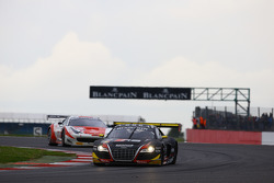 #2 Belgian Audi Sport Team WRT, Audi R8 LMS: James Nash, Philippe Gaillard, David Hallyday