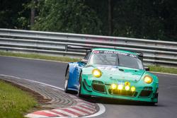 #44 Team Falken Tire Porsche 997 GT3 R: Peter Dumbreck, Wolf Henzler, Martin Ragginger, Alexandre Imperatori