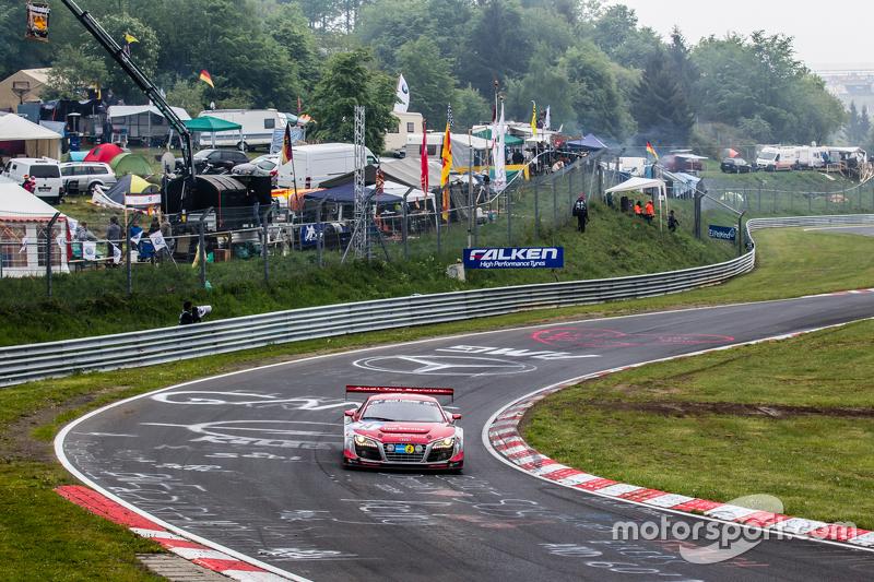#14 Audi Race Experience, Audi R8 LMS ultra: Niki Mayr-Melnhof, Rod Salmon, Micke Ohlsson, Ronnie Saurenmann