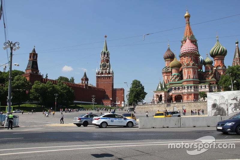 Строительство трассы Формулы Е. Москва