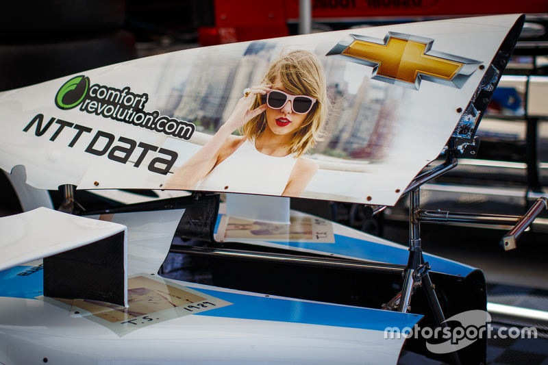 Chip Ganassi Racing: Sonderdesign mit Taylor Swift
