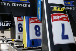 Spare front wings of Charles Leclerc, Van Amersfoort Racing, Dallara F312 Volkswagen