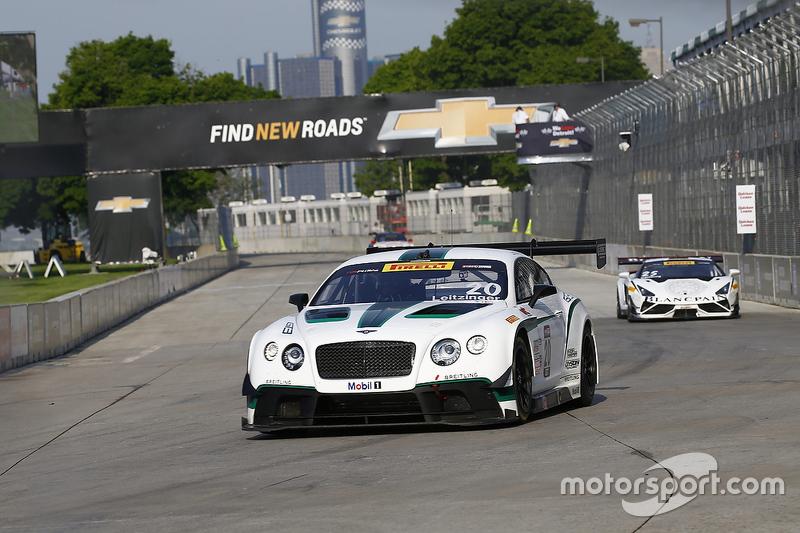 #20 Team Bentley Dyson Racing, Bentley Continental GT3: Butch Leitzinger