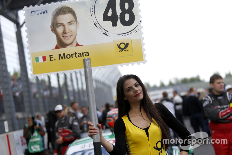 Gridgirl of Edoardo Mortara, Audi Sport Team Abt Audi RS 5 DTM
