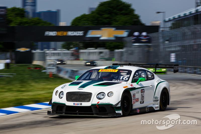 #16 Bentley Team Dyson Racing, Bentley Continental GT3: Chris Dyson