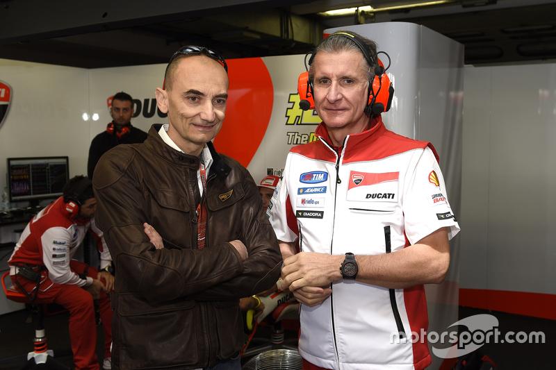 Claudio Domenicali dan Paolo Ciabatti, Ducati Team