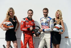 Sergey Afanasyev, SEAT Leon, Craft Bamboo Racing LUKOIL and Mikhail Grachev, Audi TT, Liqui Moly Team Engstler with Grid Girls