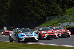 Stefano Comini, SEAT Leon, Target Competition, Jordi Gene, SEAT Leon, Craft Bamboo Racing LUKOIL ve Pepe Oriola, SEAT Leon, Craft Bamboo Racing LUKOIL