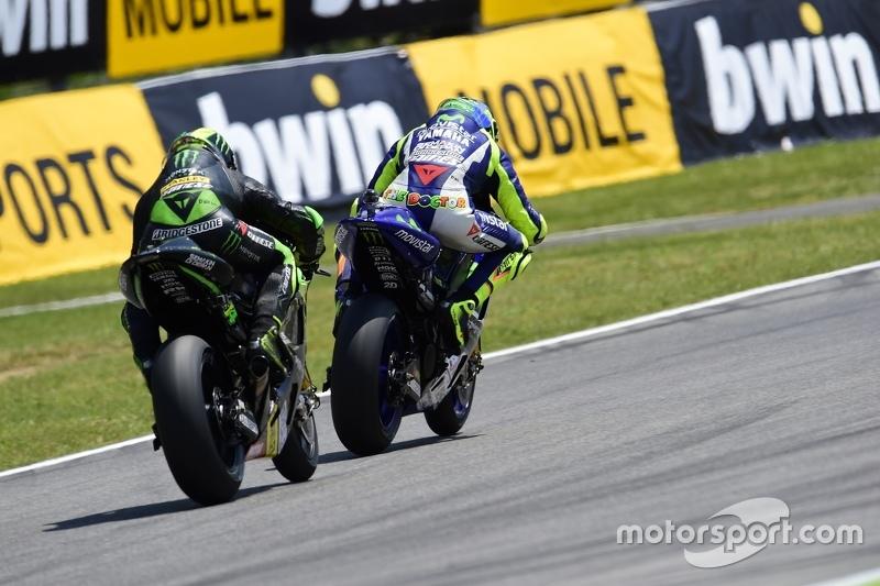 Valentino Rossi, Yamaha Factory Racing dan Pol Espargaro, Tech 3 Yamaha