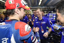 Winner Jorge Lorenzo and Lin Jarvis, Yamaha Factory Racing