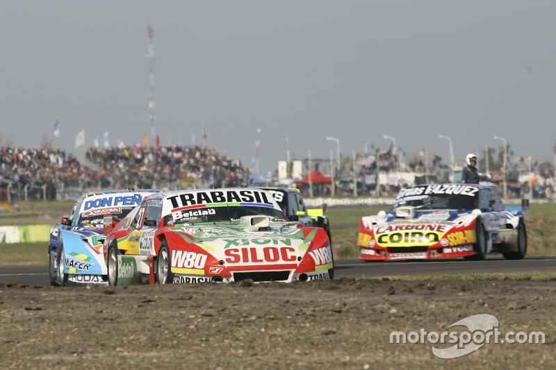 Mariano Altuna, Altuna Competicion, Chevrolet; Martin Ponte, RUS Nero53 Racing, Dodge, und Lionel Ug