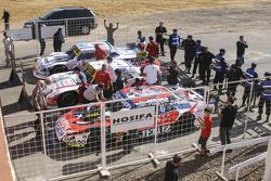 ТОП-3: Гільєрмо Ортеллі, JP Racing Chevrolet та Хуан Мануель Сільва, Catalan Magni Motorsport Ford т