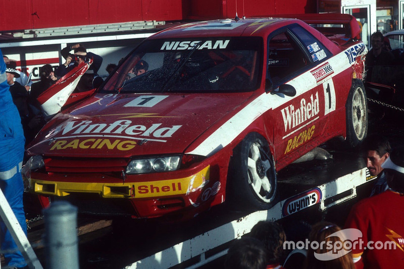 Rick Kelly bestuurt 1992 Nissan GTR