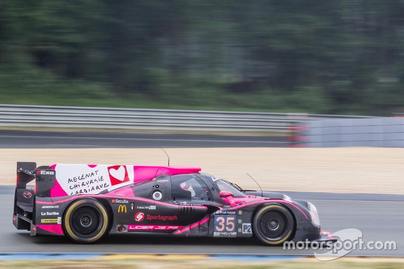 #35 OAK Racing, Ligier JS P2: Jacques Nicolet, Erik Maris, Jean-Marc Merlin