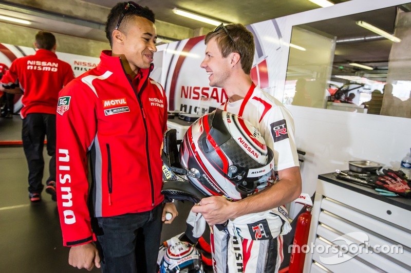 Nissan Motorsports: Jann Mardenborough and Mark Shulzhitskiy