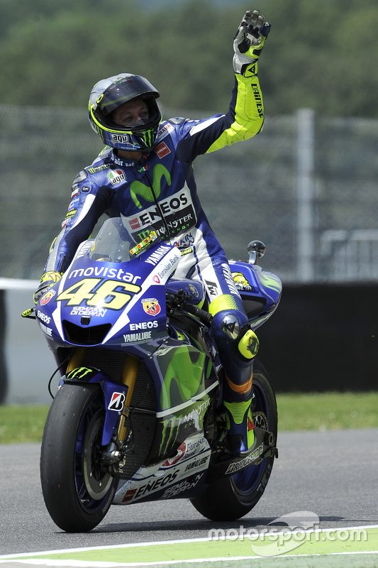 Peringkat ketiga Valentino Rossi, Yamaha Factory Racing