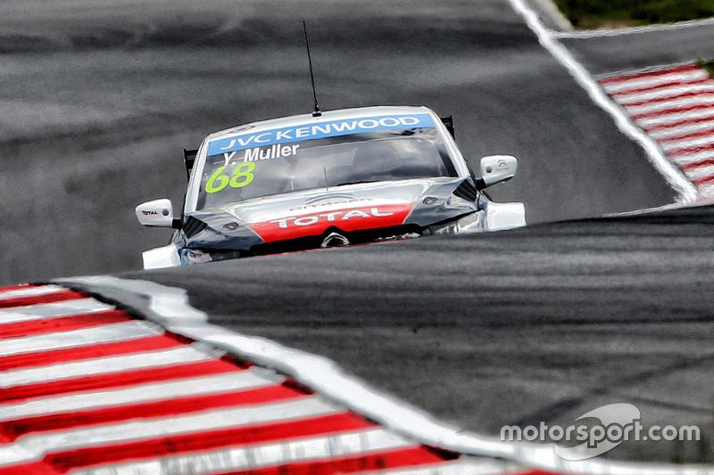 Yvan Muller, Citroën C-Elysée WTCC, Citroën World Touring Car Team