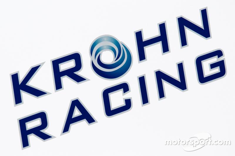Krohn Racing transporter, dan logo / signage