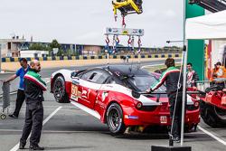 #60 Formula Racing Ferrari 458 GTE lift test