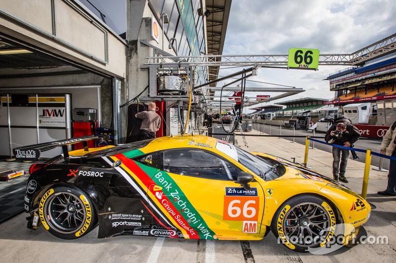 #66 JMW Motorsport, Ferrari 458 GTE