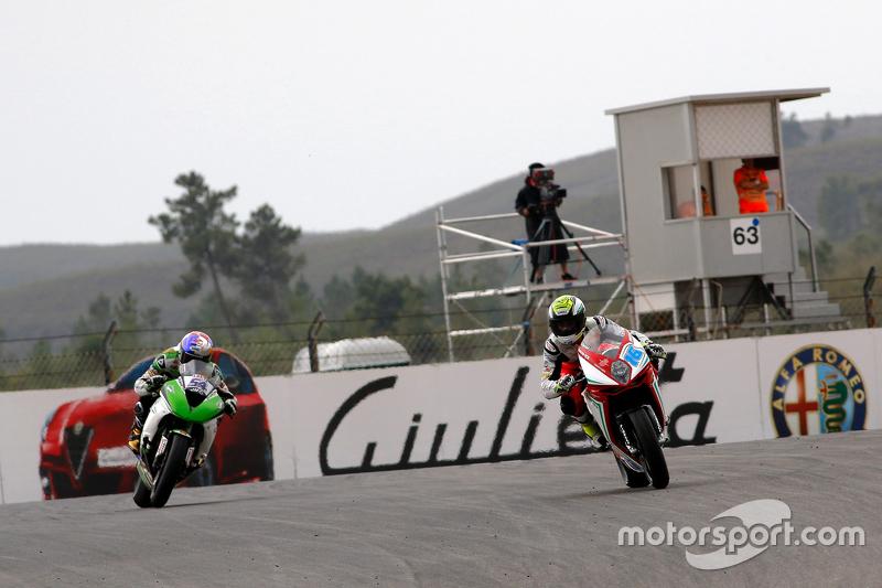 Jules Cluzel, MV Agusta Reparto Corse, vor Kenan Sofuoglu, Kawasaki Puccetti Racing