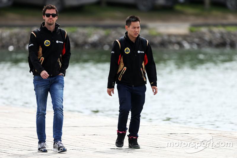 Jolyon Palmer, Lotus F1 Team Test and Reserve Driver
