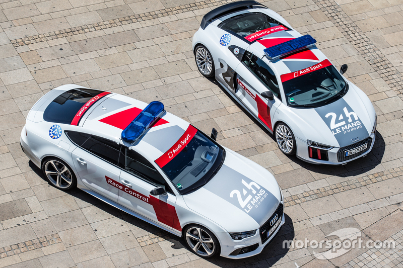 Audi safety cars untuk 24 Hours of Le Mans 2015