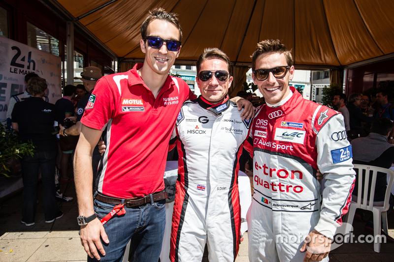 Harry Tincknell, Simon Dolan and Filipe Albuquerque