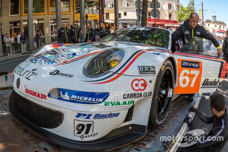 #67 Team AAI Porsche 911 GT3-RSR