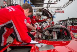 #23 Nissan Motorsports Nissan GT-R LM NISMO: Jann Mardenborough
