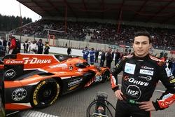 Pipo Derani no grid em Spa.