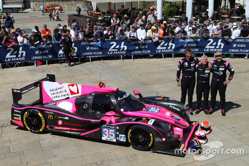 #35 OAK Racing, Ligier JS P2: Jacques Nicolet, Erik Maris, Jean-Marc Merlin