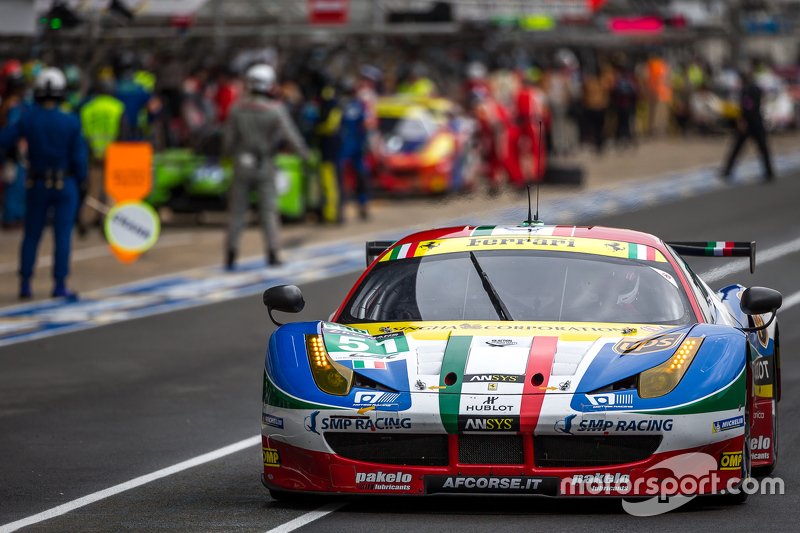 Another podium finish for Fisichella, Bruni and Vilander in the Le Mans 24 hours with AF Corse